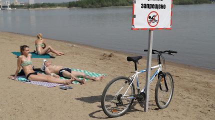 """Iki 35 °C įkaitusio Sibiro gyventojai su nerimu klausia: """"Kur mūsų pavasaris?"""""""