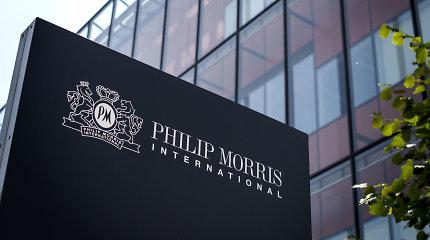 """""""Philip Morris"""" pranešė pradėjusi derybas dėl susijungimo su """"Altria"""""""