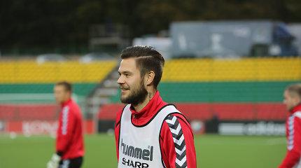 Brangiausių Lietuvos futbolininkų sąraše visų geidžiamas Lukas Spalvis veteranų dar neaplenks