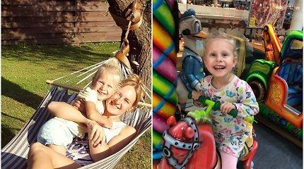 Skirtingos spalvos Emilijos akys slepia retą ligą: Lietuvoje gydymo nėra