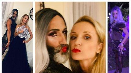 """""""Pudros"""" dalyvius Editos Daniūtės vyras pribloškė išskirtiniu įvaizdžiu: priminė Conchitą Wurst"""