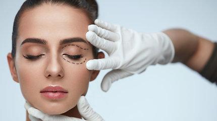 Plastikos chirurgas atveria akis – vokų korekcija kardinaliai pakeičia veidą