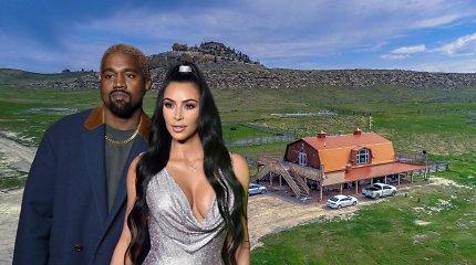 Kim Kardashian ir Kanye Westas už 14 mln. dolerių įsigijo rančą – tai bus šeimos poilsio vieta