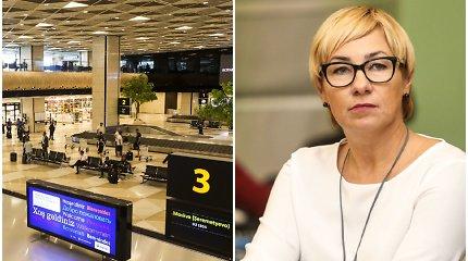 """Lyg filme """"Terminalas"""": dėl rūko Baku įstrigusi J.Šiugždinienė negalėjo palikti oro uosto"""