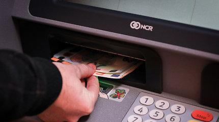 Lietuvoje nyksta ir bankomatai – liko mažiau nei 1000