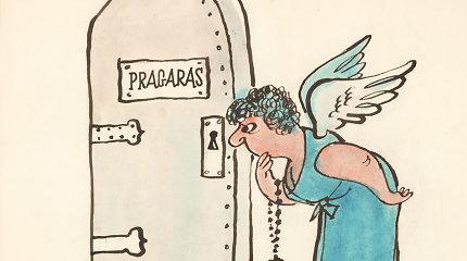 Bažnyčiai ir kapitalizmui ne: pamatykite, kokias propagandines karikatūras sovietmečiu kūrė lietuviai