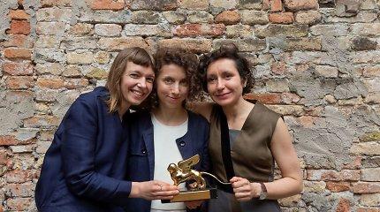 """LATGA skyrė premijas """"Auksinį liūtą"""" Venecijos bienalėje pelniusioms autorėms"""