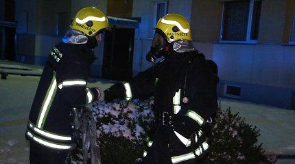Trečiadienio paryčiais Panevėžyje sudegė butas