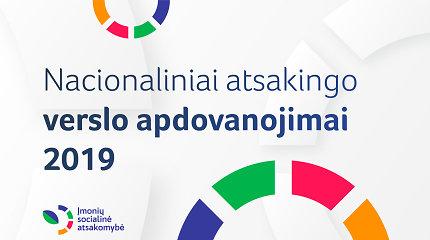 Nacionaliniai atsakingo verslo apdovanojimai 2019. Stebėkite renginio transliaciją