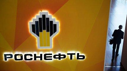 """Rusijos naftos milžinė """"Rosneft"""" pirmąjį ketvirtį patyrė 2 mlrd. eurų nuostolį"""