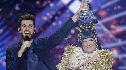 """""""Eurovizijoje"""" šiemet nugalėjo Nyderlandų atstovo daina"""