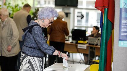 Ministerija siūlo ilginti balsavimą iš anksto ir namuose, leisti daugiau balsavimo vietų