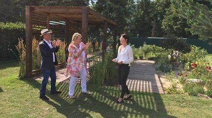 Kraštovaizdžio dizainerė Ūla Marija Bujauskaitė švenčia: jos darbas įvertintas aukso medaliu