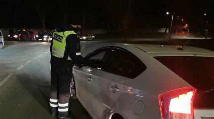 Kauno policijos savaitės rezultatai: 17 beteisių vairuotojų ir vienas, greitį mieste viršijęs dvigubai