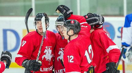 Lietuvos ledo ritulio rinktinė pakilo IIHF reitinge