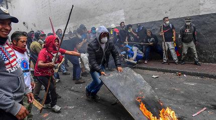 Ekvadore per protestus žuvo penki žmonės