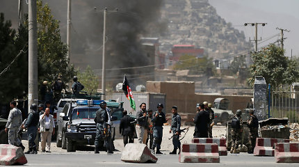 Kabule sprogo autobuse padėta bomba, yra sužeistųjų