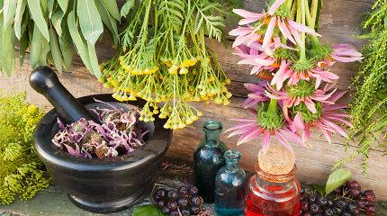 Specialistė įspėja apie pavojingus augalinių ir homeopatinių vaistų derinius
