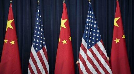 Nykstant lūkesčiams dėl proveržio, JAV ir Kinija rengiasi atnaujinti derybas dėl prekybos
