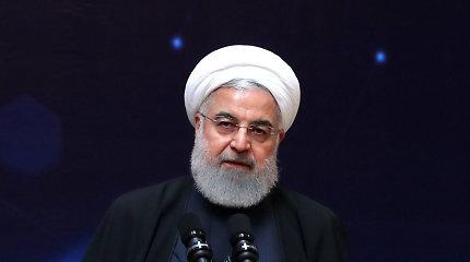 H.Rouhani: užsienio pajėgos didina nesaugumą Persijos įlankos regione