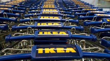 IKEA Šanchajaus centre atidarė naują parduotuvę