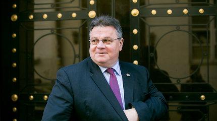L.Linkevičius: Europos saugumo iniciatyvos irgi kėlė klausimų Amerikoje