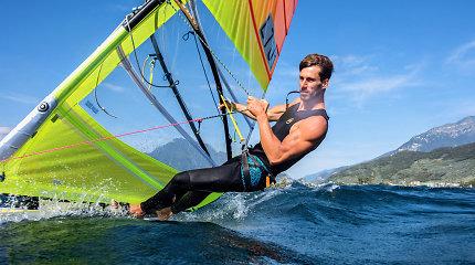 Pasaulio čempionate startuojantis Juozas Bernotas kovoja dėl olimpinio kelialapio