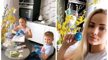 """Goda Alijeva su vaikais Velykas pasitinka naujuose namuose: """"Džiaugsmas įsikūrus atpirko visus sunkumus"""""""