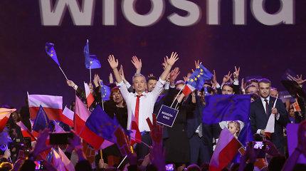 Nauja Lenkijos progresyvi partija pagal populiarumą jau trečia