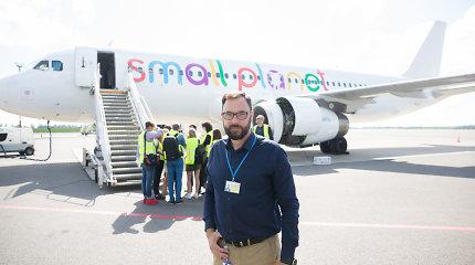 """""""Small Planet Airlines"""" apie vėluojančius skrydžius: """"Mes nesame blogiukai"""""""