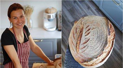Po motinystės atostogų į darbą su apskaita negrįžo: sužavėjo duonos su raugu stebuklas