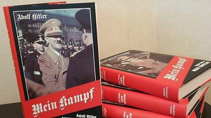 Estiškai išleisto A.Hitlerio manifesto didieji knygynai nenori pardavinėti