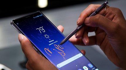 """Oficialiai pristatytas """"Samsung Galaxy Note 8"""""""