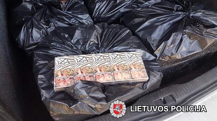 Karys Jurbarko rajone dėl nelegalaus baltarusiško krovinio atsidūrė areštinėje