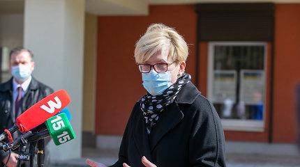 Premjerė lankys Trakų, Elektrėnų ir Kaišiadorių vakcinavimo centrus