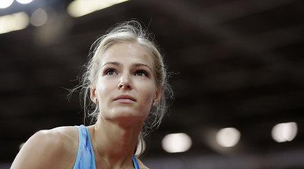 Rusai nustebę: jų gražuolė atvyko į čempionatą, bet nestartuos