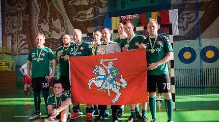 Sidabrinis Lietuvos sporto žurnalistų vizitas Ukrainoje