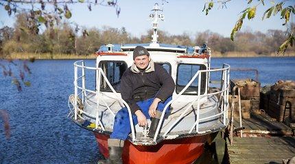Žūklė Kuršių mariose su Rusnės žvejais: kodėl nenori lašišų ir kaip paruošti skaniausią žuvį