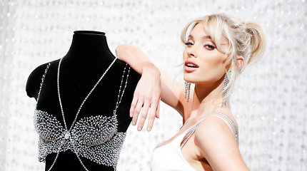 """""""Victoria's Secret"""" pristatė naująją """"Fantasy Bra"""" liemenėlę už milijoną dolerių"""