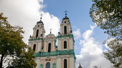 Pasirašyta Šv.Kotrynos bažnyčios fasado remonto darbų sutartis