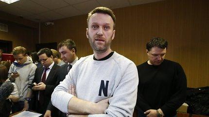"""""""Už Kremliaus sienų"""": A.Navalnas – nacionalistas? Širmą praskleidžia knygoje sugulę aktyvisto pokalbiai su A.Michniku"""
