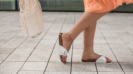 Stilistė V.Šaulytė: šlepetės – šios vasaros mados hitas ar beskonybė?