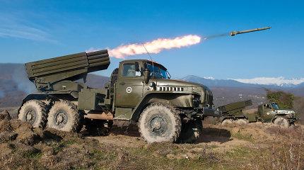 Aštuonios Vakarų valstybės ragina Rusijos pajėgas palikti Sakartvelą