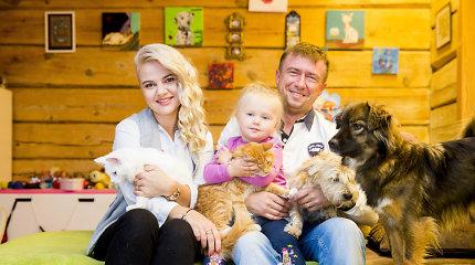 Renata Jampolskė – apie motinystę, naują hobį ir dėl dukros namuose atsiradusius katinus