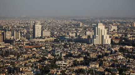 Sirijos sostinėje sprogo šaudmenų sandėlis
