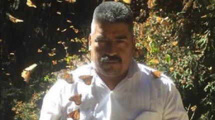 Meksikoje dingęs drugių monarchų apsaugos aktyvistas rastas negyvas