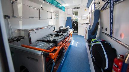Vežamas į ligoninę pacientas sumušė bendrosios praktikos slaugytoją