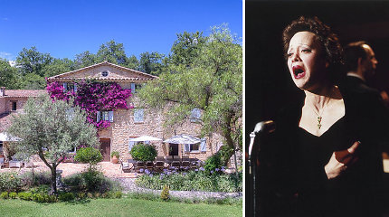 Prancūzijoje parduodamas garsios dainininkės Edith Piaf namas