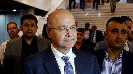 """Irako prezidentas ragina """"sustabdyti eskalaciją"""""""