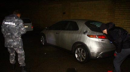 Išpuolį patyrė viena Klaipėdos įmonė – išdaužti trijų automobilių langai